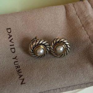 David Yurman cable cookie earrings